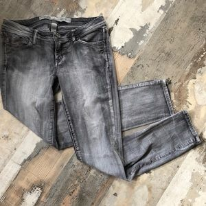 Gorgeous grey Charlotte Russe skinny jeans